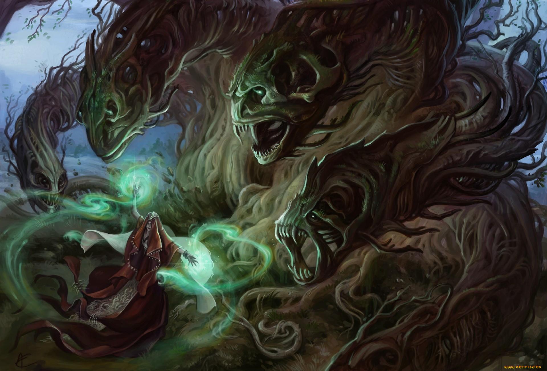 Магические монстры картинки